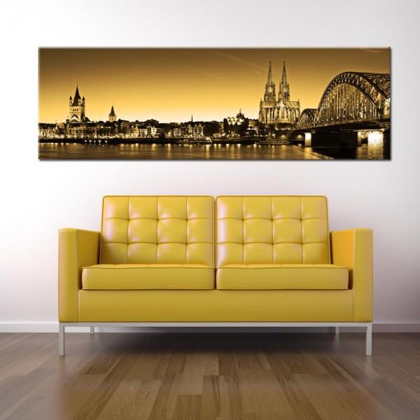 Leinwandbild Köln Besonders 65 von Wolfgang Weber
