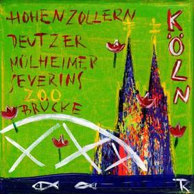 Kathrin Thiede - Köln Mini Brücken grün