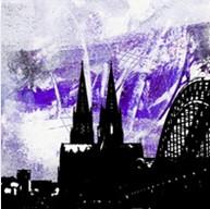 """Leinwandbild """"Der Dom in kunterbunt 10"""" von Vittorio Vitale ab 50x50 cm"""