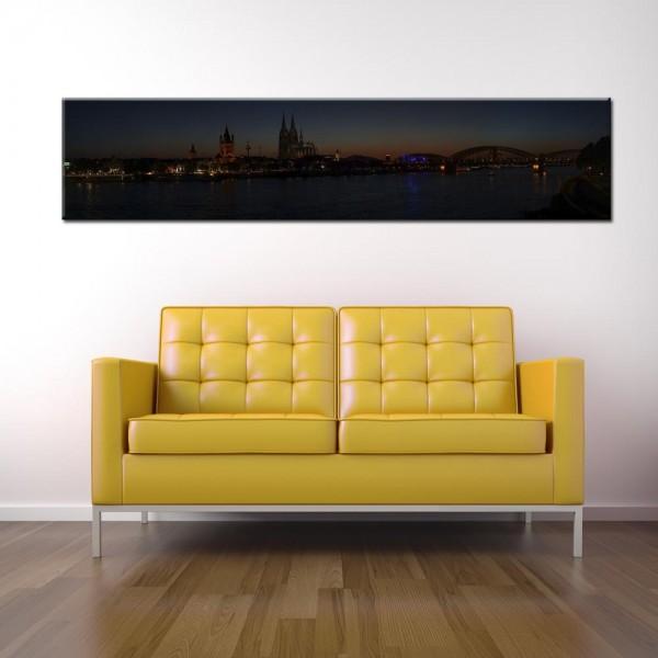 Leinwandbild Köln Panorama XVII