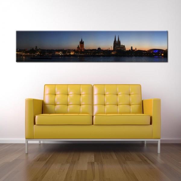 Leinwandbild Köln Panorama XI