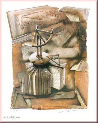 Henry Haselwanger Lettre II Unikat Format 60x80 cm handsigniert