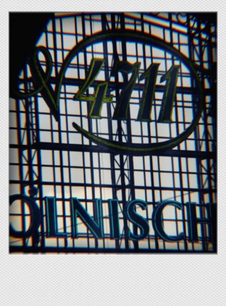 Köln Mini Polaroid 4711 Kölnisch Wasser auf MDF