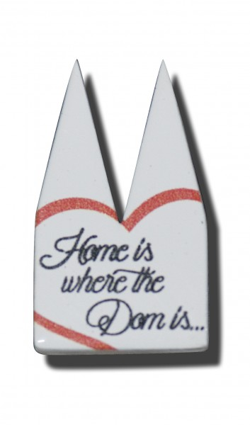 Helmut Brands Dom Einsatz Siebdruck Home is where the dome is