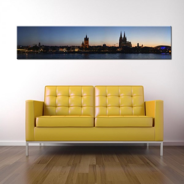 Leinwandbild Köln Panorama I
