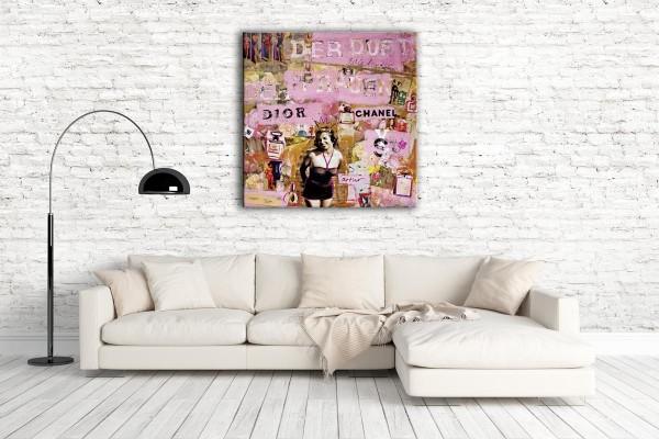Kathrin Thiede Der Duft Collage Bild auf Leinwand