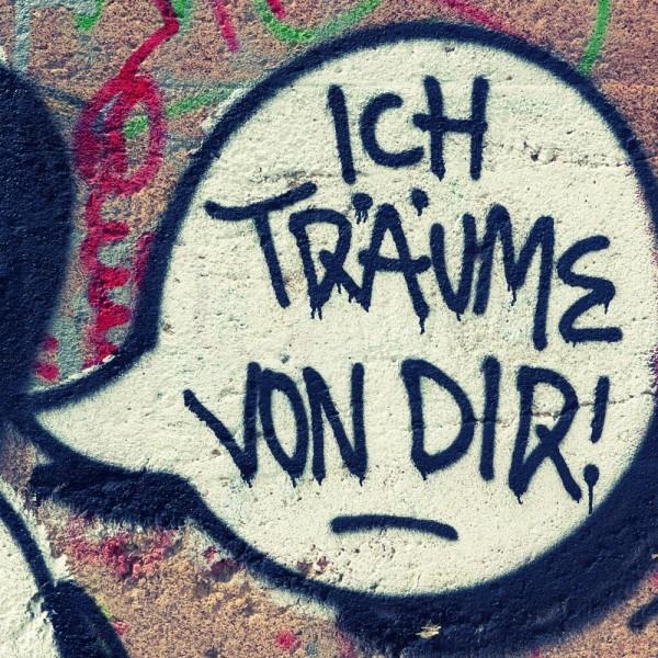 Mini Köln Ich träum von dir auf MDF