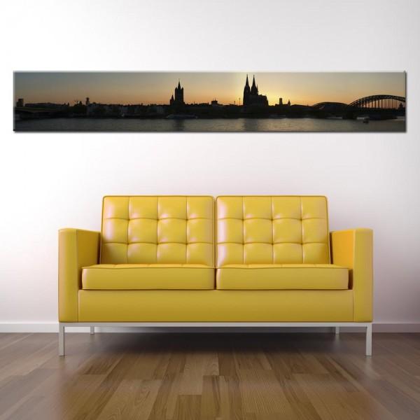 Leinwandbild Köln Panorama XX