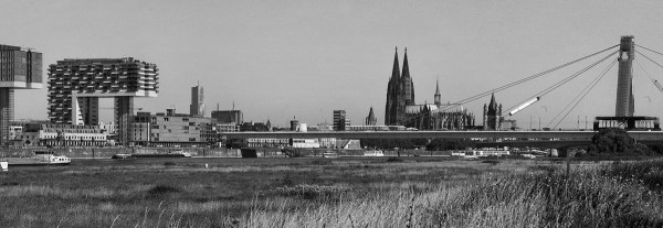 Mini Köln Panorama II auf MDF