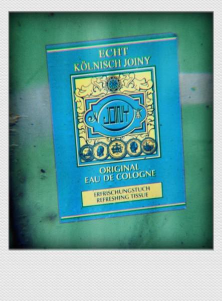 Köln Mini Polaroid Echt kölnisch Joiny auf MDF