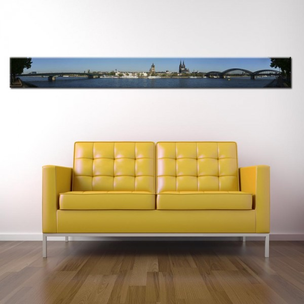Leinwandbild Köln Panorama IV