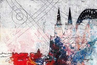 "Leinwandbild ""Der Dom mal anders 13"" von Vittorio Vitale ab 50x70 cm"