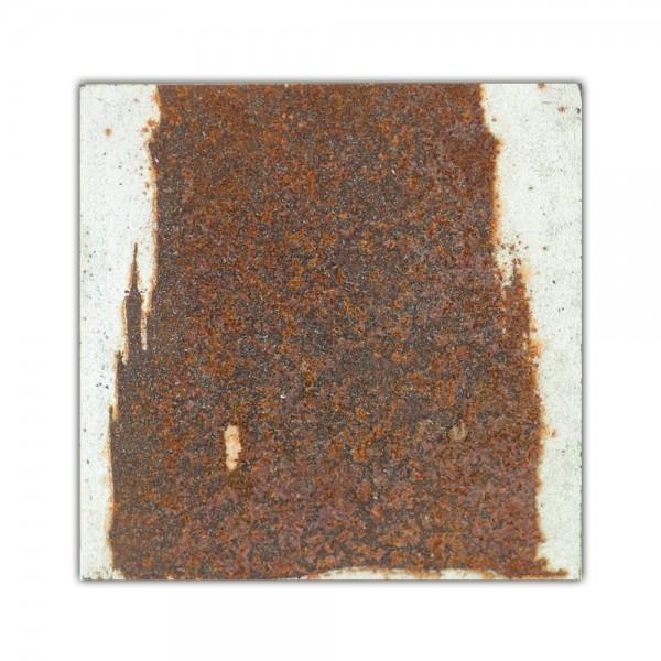 Uwe Reuter Rost Mini Dom Detail Turm 3, 10 x 10 cm