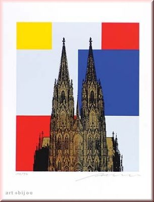 Henry Haselwanger Mondrian Dom Auflage 30 Format 40x50