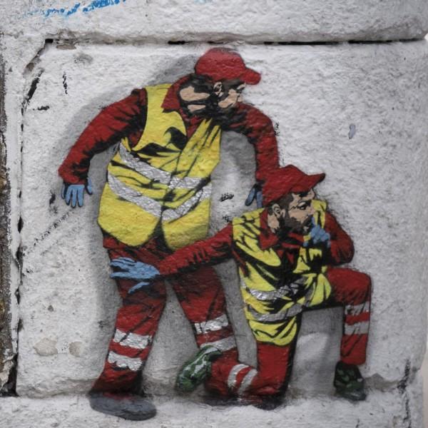 Mini Köln Arbeiter auf MDF