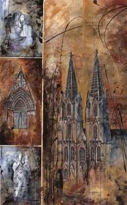 Kölner Dom, M.Remus 60x80cm
