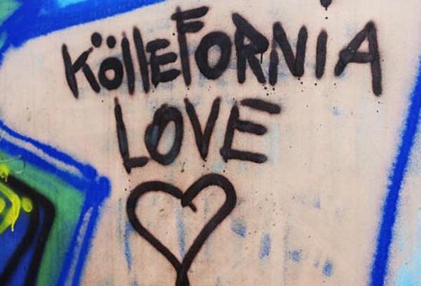 Mini Köln Köllefornia Love auf MDF