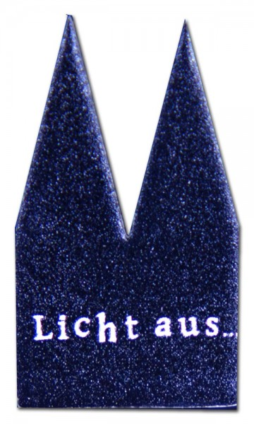 Helmut Brands Dom Einsatz Siebdruck Licht aus