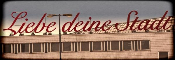 Mini Köln Liebe deine Stadt grunge auf MDF