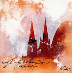 "Leinwandbild ""Der Dom mal anders 6"" von Vittorio Vitale ab 50x50 cm"