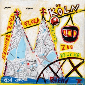 Kathrin Thiede - Köln Mini Zoobrücke