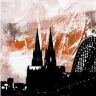 """Leinwandbild """"Der Dom in kunterbunt 11"""" von Vittorio Vitale ab 50x50 cm"""