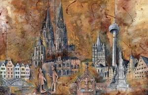 Köln 3, M.Remus 60x80cm