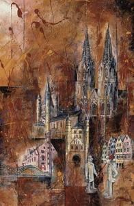 Köln 1, M.Remus 60x80cm