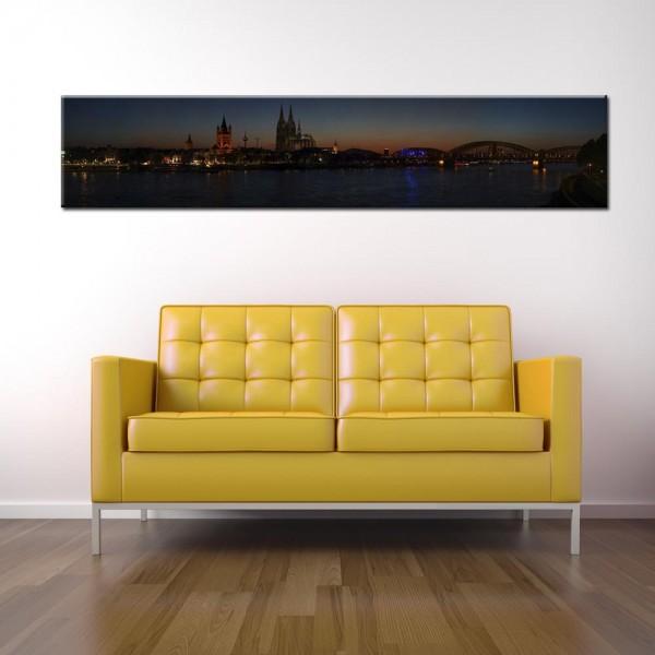 Leinwandbild Köln Panorama XVIII