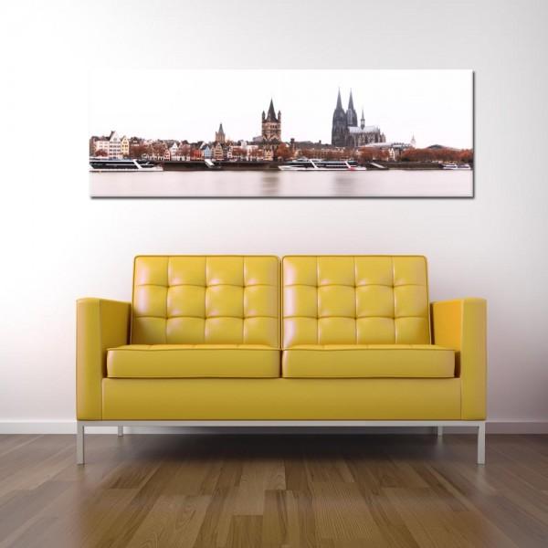 Leinwandbild Köln bei Tag 271 von Wolfgang Weber