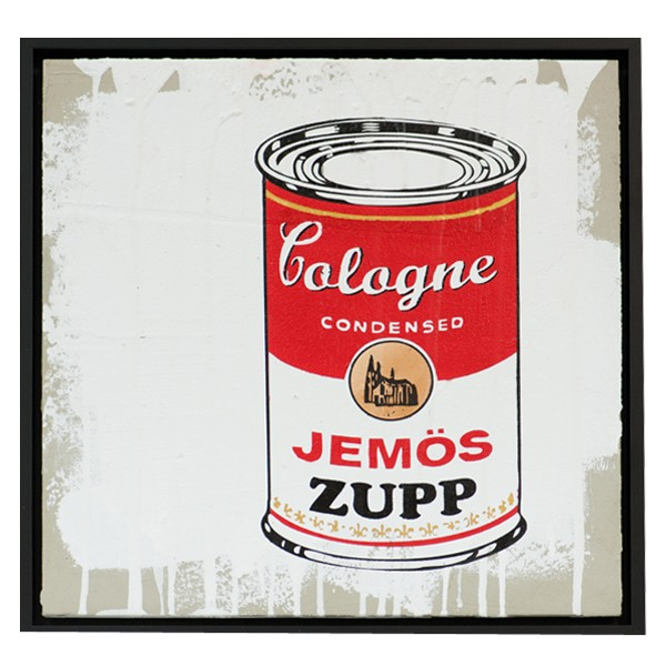 Jemös Zupp Unikat Köln Graffiti auf Zement-Copy