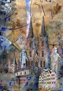 Köln 2, M.Remus 60x80cm