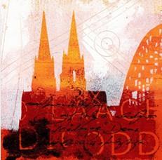"""Leinwandbild """"Der Dom in rot 4"""" von Vittorio Vitale ab 50x50 cm"""