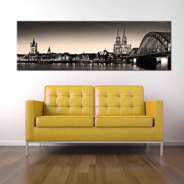 Leinwandbild Köln Besonders 68 von Wolfgang Weber