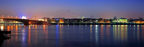 Leinwandbild Bonn Panorama 36
