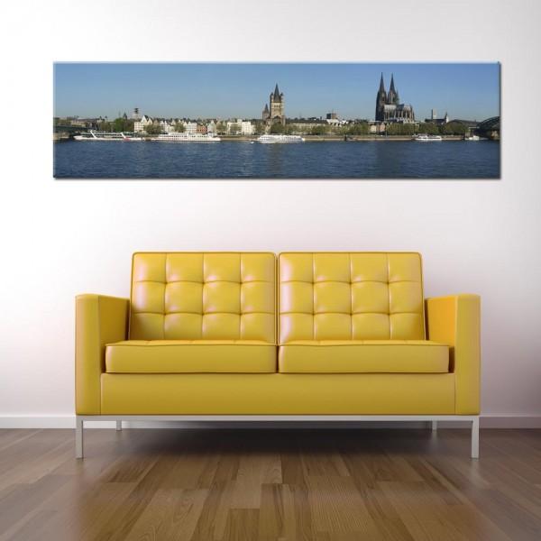 Leinwandbild Köln Panorama VIII