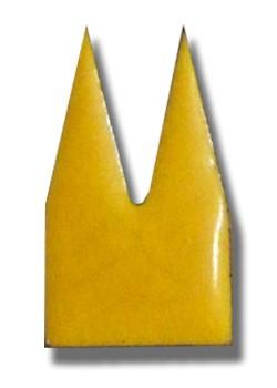 Helmut Brands Dom Einsatz Emaille gelb