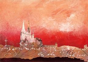 """Leinwandbild """"Köln bei Tag und Nacht 4"""" von Vittorio Vitale ab 50x70 cm"""