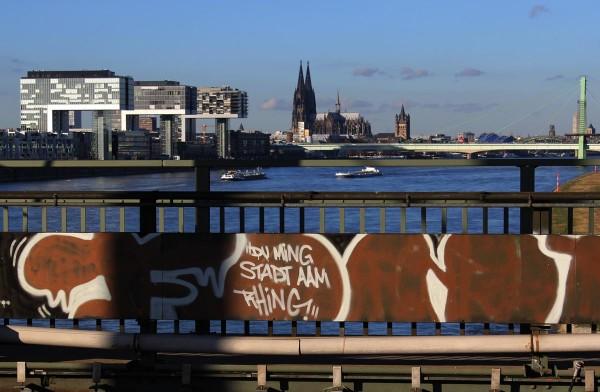Mini Köln Ming Stadt auf MDF