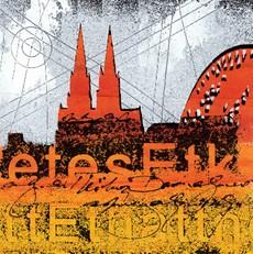 """Leinwandbild """"Der Dom in rot 1"""" von Vittorio Vitale ab 50x50 cm"""