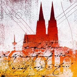 "Leinwandbild ""Der Dom mal anders 9"" von Vittorio Vitale ab 50x50 cm"