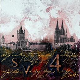 "Leinwandbild ""Der Dom mal anders 2"" von Vittorio Vitale ab 50x50 cm"