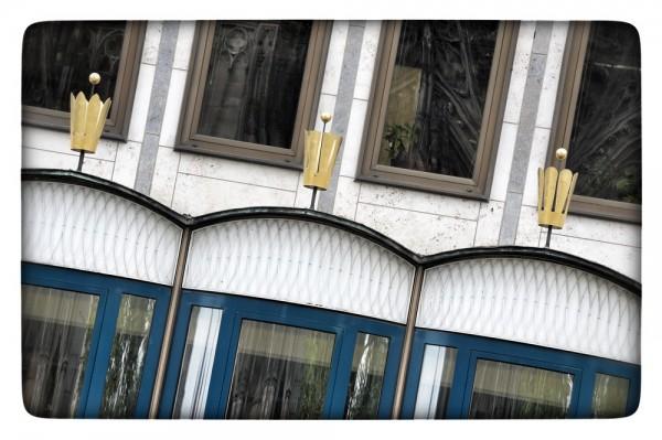 """Fotografie Joachim Rieger """"Krönchen"""" auf Leinwand"""