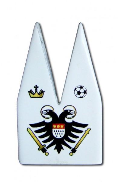 Helmut Brands Dom Einsatz Siebdruck Adler Fussball
