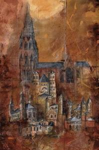 Kirchen Kölns, M.Remus 42x29.7cm (A3)