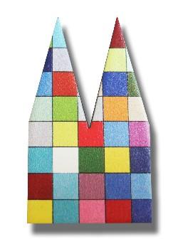 Helmut Brands Dom Einsatz Siebdruck Mosaik