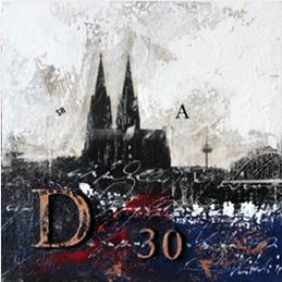 "Leinwandbild ""Der Dom mal anders 1"" von Vittorio Vitale ab 50x50 cm"
